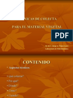 TÉCNICAS DE COLECTA