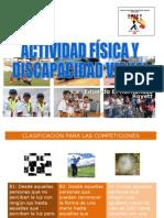 Deporte y Discapacidad Visual
