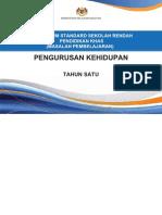 Dokumen Standard Pengurusan Kehidupan Tahun 1