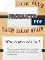 Failed Product