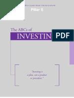 Pillar 5 - the ABCs of Investing