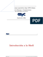 Transparencias-Introduccion Shell Linux