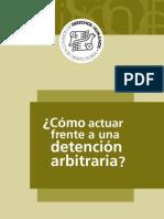 ¿Cómo actuar frente a una detención arbitraria?  #detenciónarbitraria