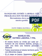 Fanny Mantilla - Pnl y Manejo Del Estres