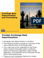 exchange rate determination ppt