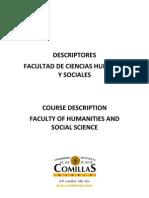TRADUCCION E INTERPRETACION - UniversidadPontificiaComillas-CourseDescriptions
