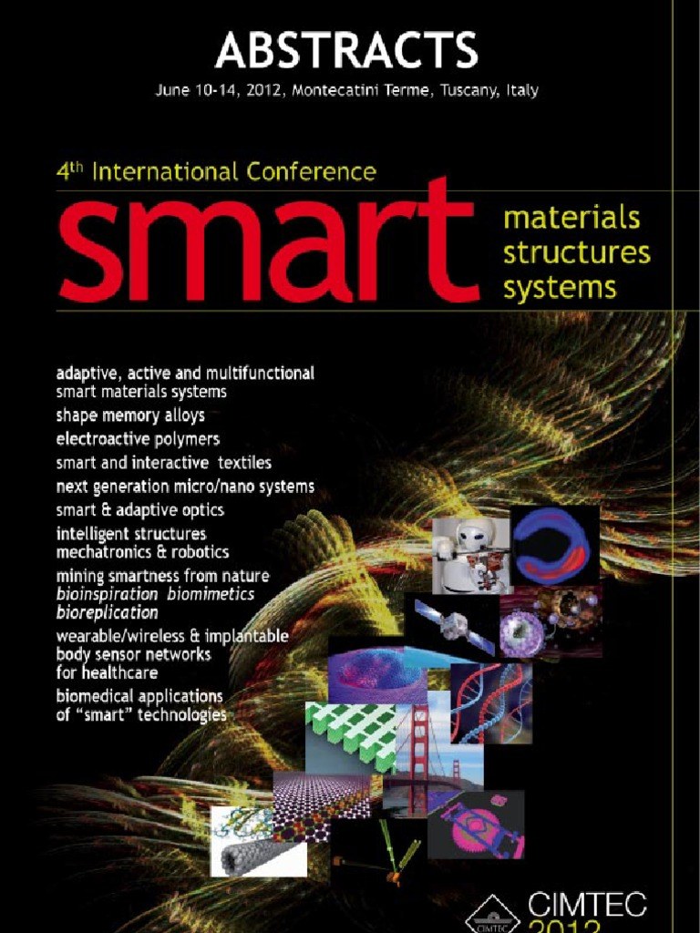 Abstracts Cimtec 2012 | Metamaterial | E Textiles