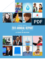 Charity Water 2011 Annual Report