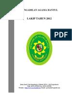 Pa Bantul Lakip 2012
