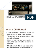 Child Labor and Ethics