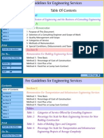 Fee Guide Eng Services