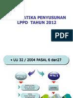 SISTEMATIKA PENYUSUNAN  LPPD 2012.ppt