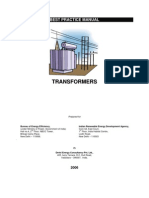 Best Practice Manual-transformers