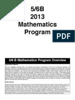 term one maths 56b