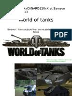 World of tanks [Guillaume&Erwan corrigé]