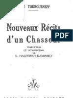 Tourgueniev Nouveaux Recits d Un Chasseur Ocr