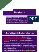 berylowce