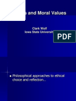 Ethics Moral Values Wolf