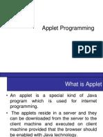 Applet Programing