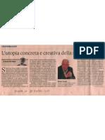 L'utopia concreta e creativa della smart cities