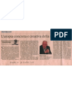 L'utopia concreta e creativa della smart cities