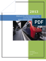 A Guide for WildCard SSL CSR Generation from RapidSSLonline.com
