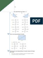 Resolucio Exercicis Tema Trigonometria
