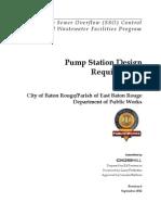 03 pump station design reqs
