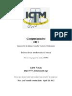 Comprehensive Test 2011