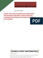 Rumus Cepat Matematika - Trigonometri.pdf