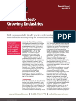 Fastest Growing Industries
