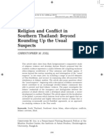 Joll, C. M. (2010). Religion and Conflict in ST - Beyond Rounding Up the Usual Suspects. CSEAS 32(2), 258-279