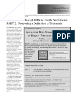 The Role of ROS in Health and Disease