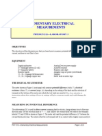 Elementary Electrical Measurements_2004