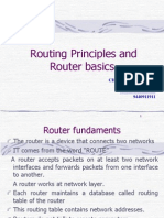 Routing Principles and ROUTER BASICS APT