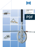 Vetter catalogue of Overhead lines