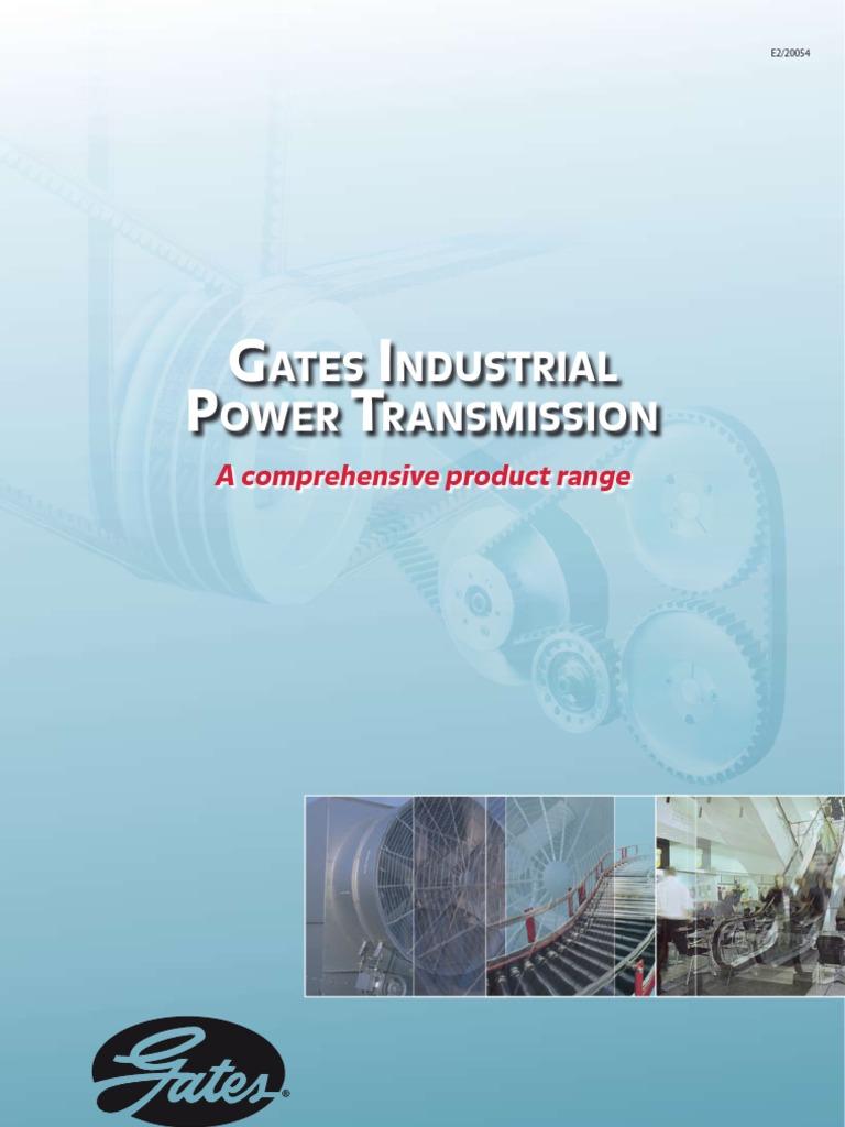 Gates 6949 Powerated Belt 6949-GAT