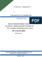 CP C.01.02-2003 Accesului Persoanelor Cu Handicap
