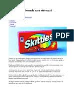 Skittles, bomboanele care stresează pancreasul 2nov2009