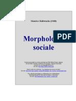 Maurice Halbwachs - Morphologie Sociale