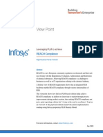 Infosys - Leveraging PLM to Achieve REACH Compliance   Lifecycle Management