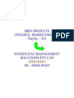 Mba Projects2