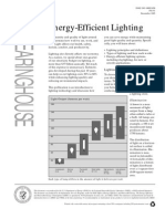 Energy- Efficient Lighting