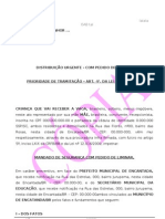 MANDADO DE SEGURANÇA CRECHE