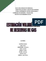 Estimación Volumétrica de Reservas de Gas