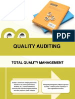 Quality Auditing