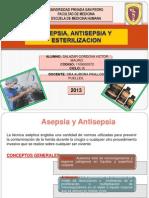 Asepsia, Antisepsia, Esterilizacion y Desinfeccion - Cirugia i