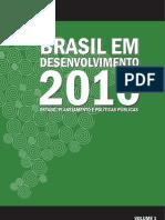 Brasil Em Desemvolvimento em 2010_Estado-Planejamento-Políticas Públicas