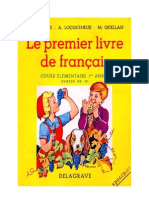 Langue Française Le Premier Livre de Français CE1 Delagrave