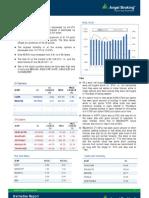 Derivatives Report, 01 April 2013